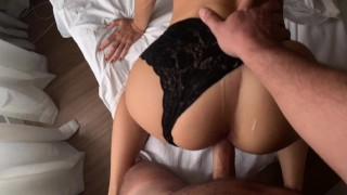 HOT PASSIONATE DOGGYSTYLE IN A PERFECT ASS LINGERIE AMATEUR SASSY AND RUPHUS