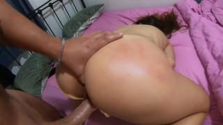 SLAPPED & INSEMINATED INNOCENT SLUT! #Orgasm #Creampie #POV