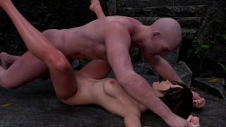 Порнографический фильм - Лара Крофт Трахнула В Руинах Ее Moras ■ Tomb Raider Sfm Blender Porn