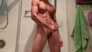 Beste porno ooit - Heet Latino Man Met Six Pack Sixpack Alleen Packing Off Latino Met