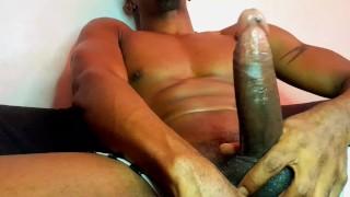 Videos Porno Xxx - Black Guy Jock Wanks/Black Cock Hand Job/Black Cock Cumming/Jerck Of Black