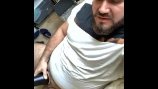 Collection of Best Porn - Hot Bearded Guy Lick His Creampie