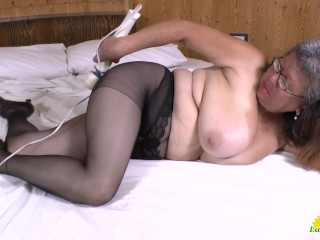 LATINCHILI Extremely Busty Latina Solo Masturbation