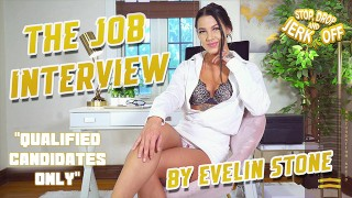 STOP, DROP & JERK OFF – The Job Interview – By Evelin Stone
