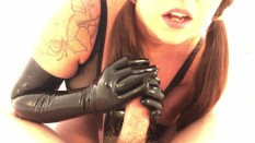 Gloryhole Gloves Cumslut Wife Sloppy Spit Deepthroats Strangers ...