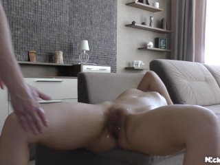 8 Real Orgasms in 30 Minutes! Fisting deep . Teen Jasmine Waterfall