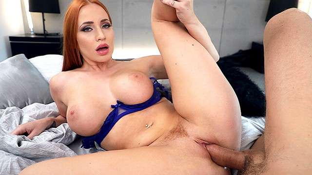 First time anal with your big tittied stepsister