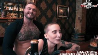 Deutsches Paar trifft sich durch online Dating und hat direkt Sex