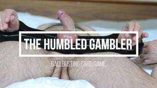 humbled gambler nurse myste ballbusting cbt femdom card game