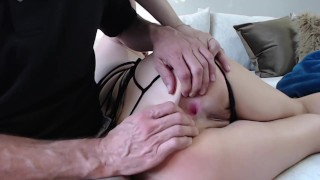 Sexy MILF Plays With A New Whip & Gets Her Tight Asshole Stretched