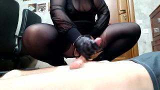 Russian Femdom - Mistress uses as toilet