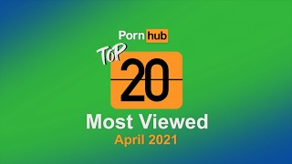 Most Viewed Videos of April 2021 Pornhub Model Program