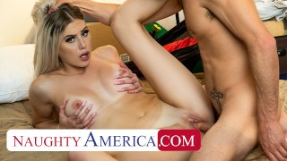 Naughty America Bri Klein wants to fuck Tyler and go to Australia with him