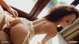 Rammed Alexis Tae Got Her Tight Pussy And Ass Fucked Rough