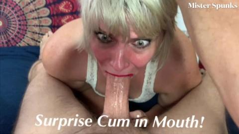 Surprise cum porn
