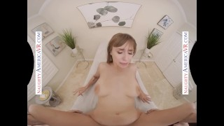 Naughty America Your massage gets Angel Youngs extremely wet and horny for your big cock in her ho