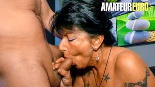 XXXOmas Big Tits German Mature Hardcore Pounding With Newbie Guy AMATEUREURO