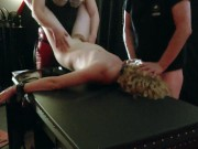 Sex Re-Education 3: First day jerome strap-on assfucked by Woman Domme and facefucked by Man Dom