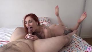 Redhead Princess Tries Out Hardcore Porn