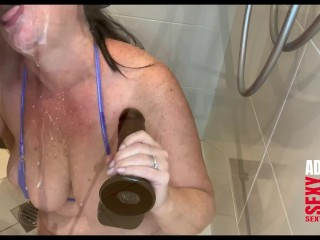 Sloppy double blowjob with milk TRAILER