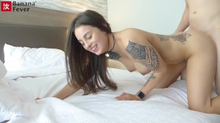 Southern Belle Cam Girl Maddy Wants Deep Penetration from Asian Guy BananaFever AMWF