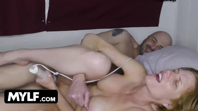 Big Titted Mature Slut With Pierced Nipples Is Having Lockdown Pleasures With Her Boy Toy & Vibrator