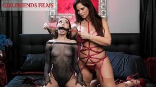 Syren De Mer Teaches BDSM Techniques To Eager College Babe - GirlfriendsFilms