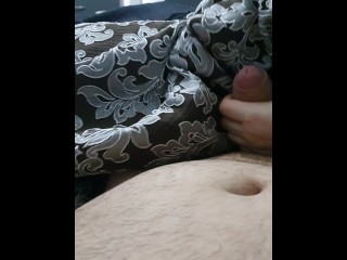 Step mom wrestling with step son dick making him cum in 20 seconds