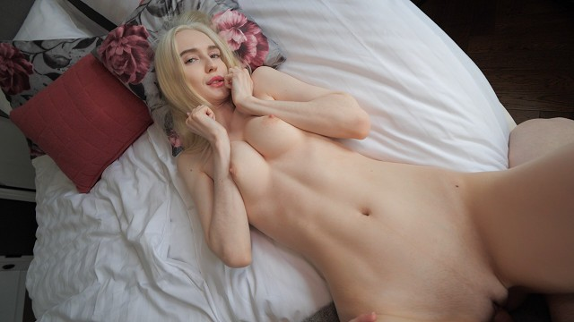 Amateur Blonde Beauty Fucked - Facial Cumshot