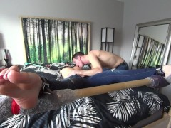 The Assistant Ties Gwen to the Bed & Worship's her Delicious Body! (1080p HD PREVIEW)