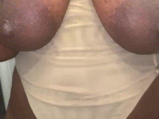 Big azz Tits with Chocolate nipples