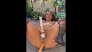 Hairy pussy squirting milf
