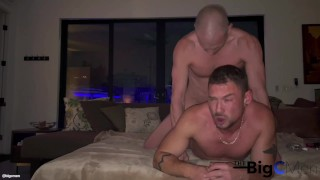 Hardcore Late Night Breed: Ffuckyeahh11 Returns For More Of Big C's Dad Dick