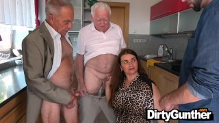 Dirty Old Perv can barely fuck
