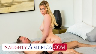 Naughty America Amber Moore loves older men and their cocks