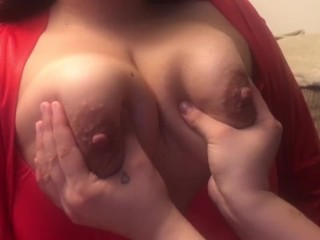 My girl friends love seeing my boobs milk and they wanted to play. (Teaser)