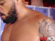 RAWHOLE Diego Moreno Raw Breeds Hunky Latino Thomas Lesser