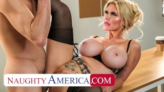Naughty America - Bad Ass boss Casca Akashova knows what she wants and she wants Tyler's COCK!!!