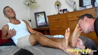 Сон Фильмы Порно - Manpuppy Пять Раба Для Латиноамериканцев - Хосе Кортезис - Лео Синий