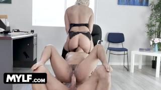 Bossy Milf Alexis Monroe Interviews Brunette Slut For Office Slave