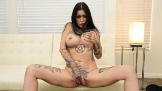 Big Tits Bombshell Janey Doe Jerk Off Instructions To Her FWB