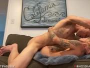 Hot Bi Big Dick Jock Muscle Hunk Fucks Sexy Trans Male FTM Passionate Real Sex Hard Fucking Creampie