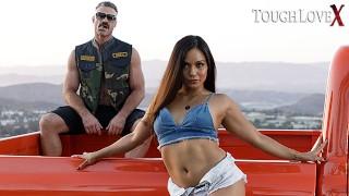 TOUGHLOVEX Suckin fuckin and truckin with Lana Violet