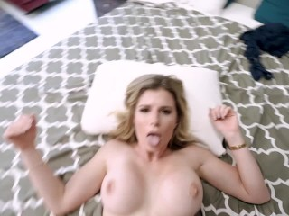 When Dad is Away Step Mom wants to Play – Cory Chase