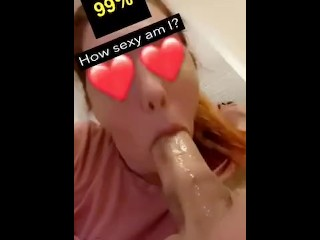 The best amateur deep throat couple Snapchat filters amazing oral