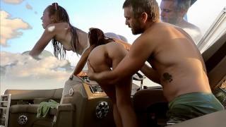 Wet N' Wild Boat Ride With Brandibraids