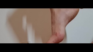 Trampling #76 barefoot femdom