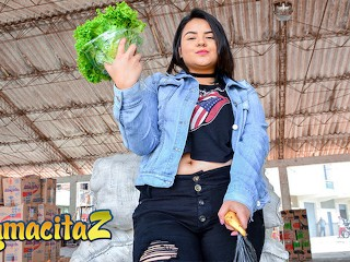 CARNEDELMERCADO – BIG TITS CHUBBY COLOMBIAN BABE PICKED UP AND FUCKED FULL SCENE