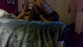 tribbing while pregnant