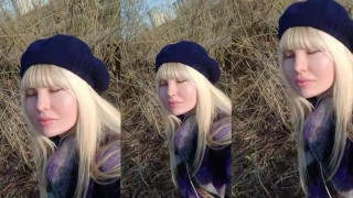 HI PEOPLE, WHAT A NICE DAY) SEE MY TIT?)
